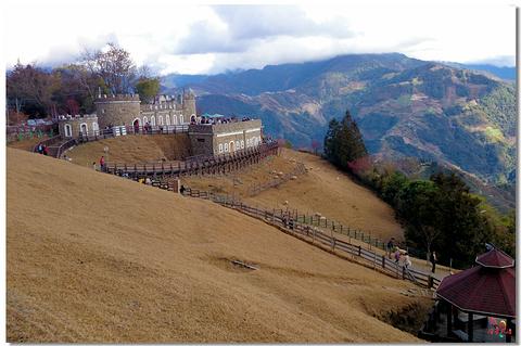 清境绵羊城堡旅游景点攻略图