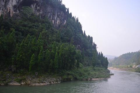 油溪河漂流旅游景点攻略图
