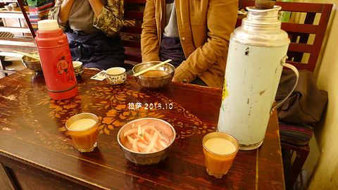 仓姑寺甜茶馆旅游景点攻略图