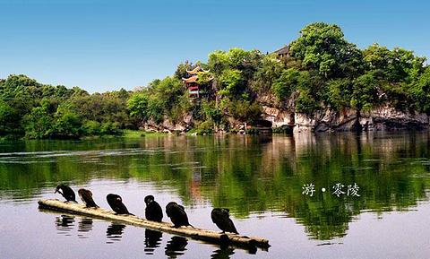朝阳岩旅游景点攻略图