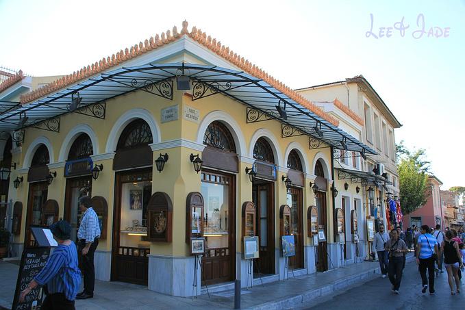 雅典罗马市集图片