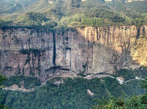 万仙山景区旅游景点攻略图