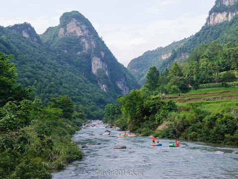 杉木河峡谷旅游景点图片