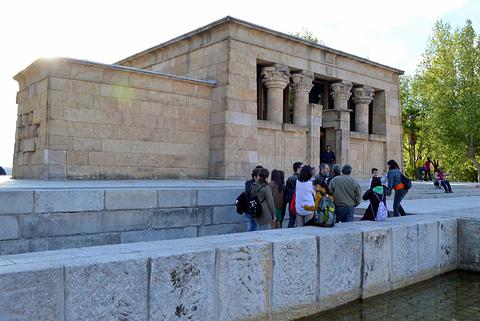 埃及庙旅游景点攻略图