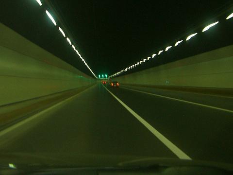 胶州湾海底隧道旅游景点图片