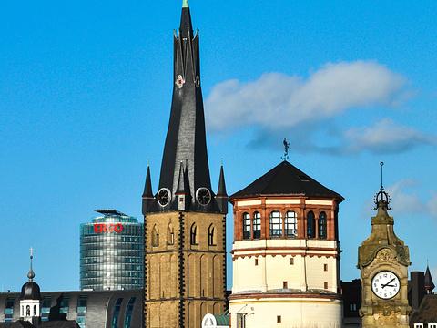 莱茵河滨江大道旅游景点图片