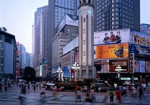 杨家坪步行街