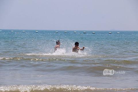 石老人海水浴场旅游景点攻略图