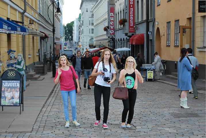 """""""议会广场The Senate Square 是一处正方形的美丽广场,芬兰议会、赫尔辛基大学和大..._Senaatintori""""的评论图片"""