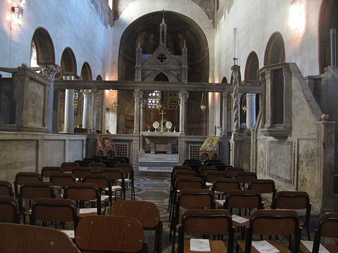 科斯梅丁圣母教堂旅游景点图片