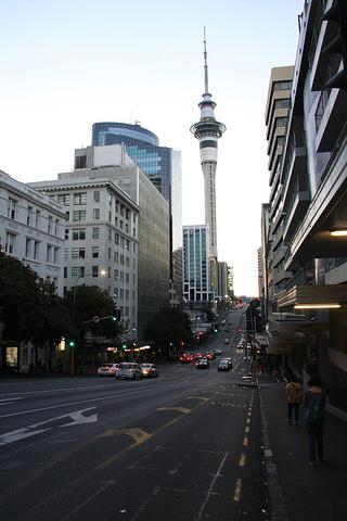 """""""Sky Tower是南半球的最高建筑_天空塔""""的评论图片"""