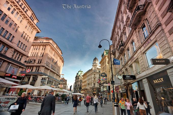 维也纳街景图片