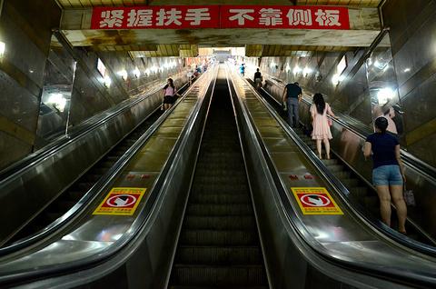 皇冠大扶梯旅游景点攻略图