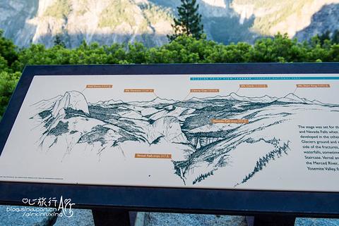 冰川点观景点旅游景点攻略图