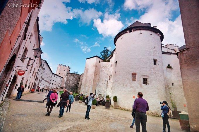 萨尔茨堡城堡图片
