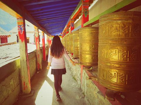 拉桑寺院旅游景点攻略图