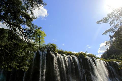 诺日朗瀑布旅游景点澳门新葡亰亚洲图