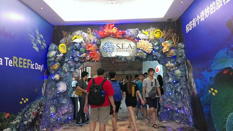 S.E.A.海洋馆旅游景点攻略图