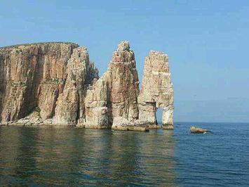 长岛海上游