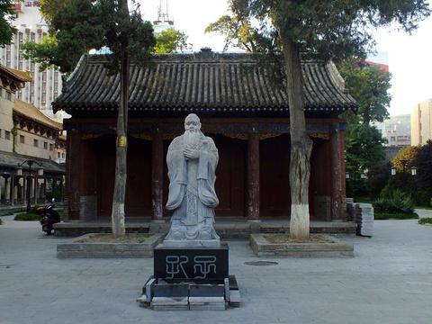 天水孔庙旅游景点图片