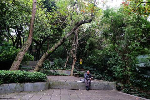 越秀公园旅游景点攻略图