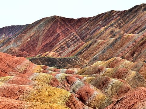 张掖七彩丹霞旅游景区旅游景点图片