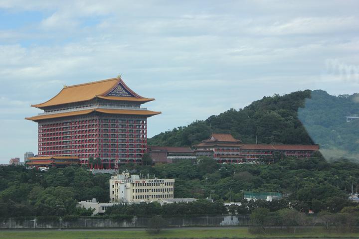 """""""特别一提的是,饭店的钥匙是中国""""鼎""""字,很有文化气息的感觉。而且都是原汁原味的中式料理,食材很棒的_圆山大饭店""""的评论图片"""