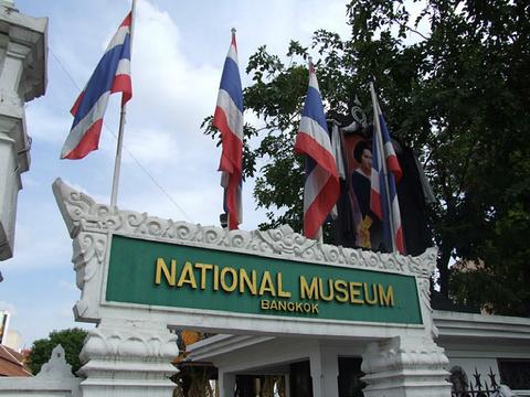 曼谷国立博物馆旅游景点攻略图