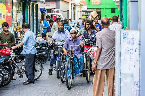 Majeedee Magu购物街旅游景点攻略图