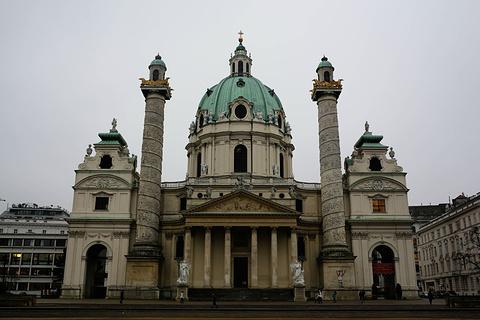 查理大教堂旅游景点攻略图