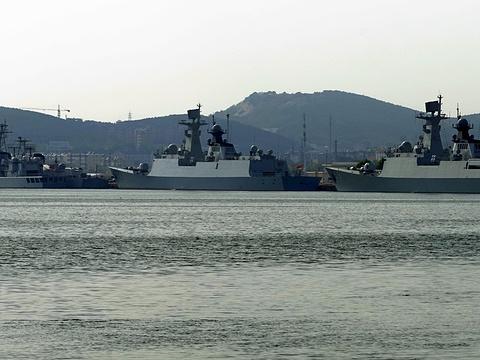 旅顺军港旅游景点图片