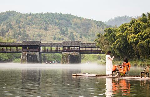 彩虹桥旅游景点攻略图