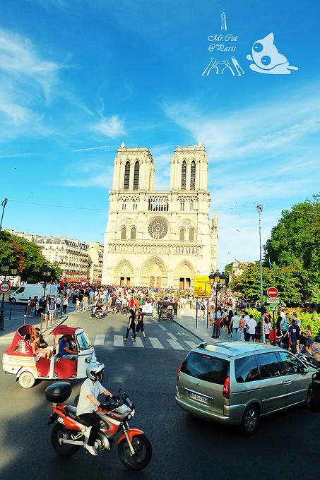 巴黎圣母院图片