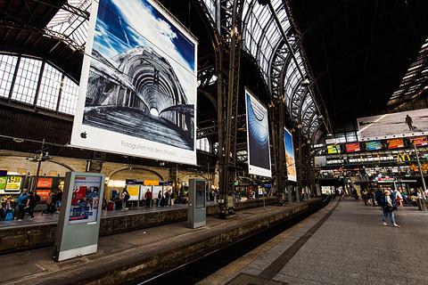 汉堡中央火车站旅游景点攻略图