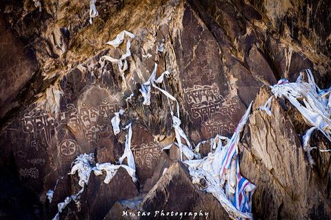 日土山洞古壁画旅游景点攻略图