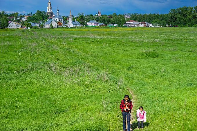 徒步于苏兹达尔图片