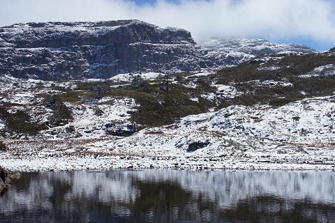 轿子雪山的图片