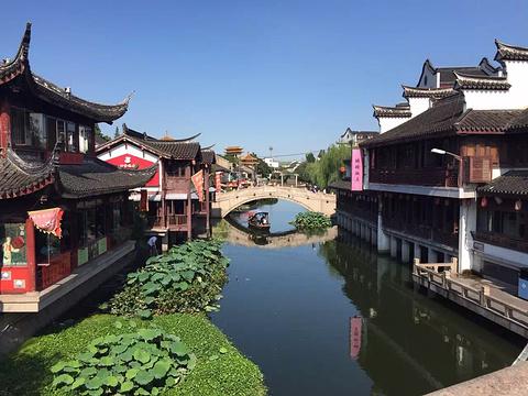 Image result for 充滿江南水鄉古鎮風情的朱家角和七寶老街古色古香