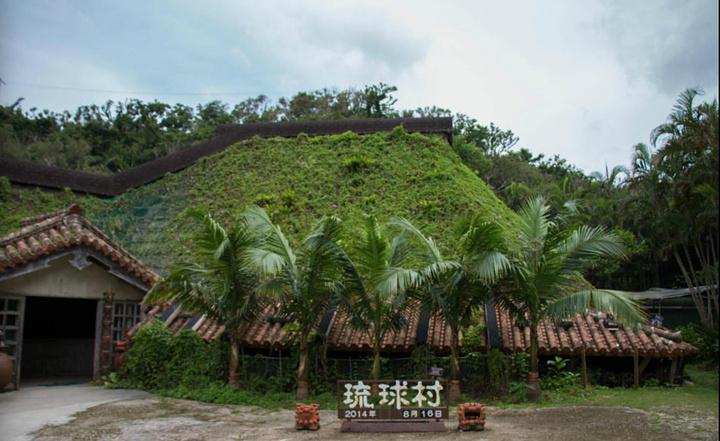 """""""冲绳我觉得最吸引我的就是海_琉球村""""的评论图片"""