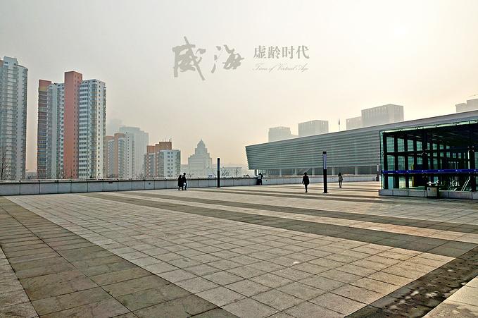 威海火车站图片