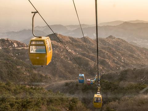 盘山旅游景点图片