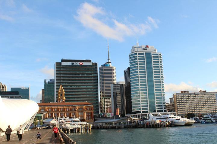 """""""奥克兰轮渡大厦(Auckland Fer..._奥克兰海港""""的评论图片"""