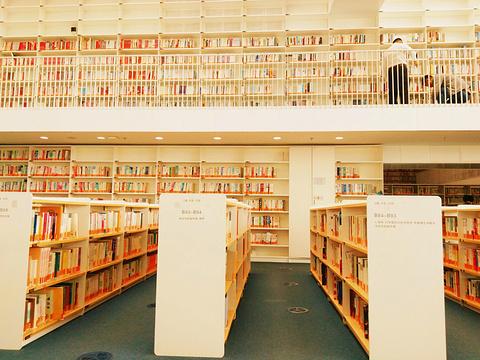 天津图书馆旅游景点攻略图