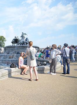 盖费昂喷泉旅游景点攻略图