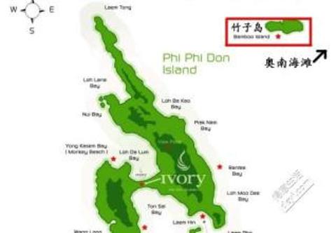 竹子岛旅游景点攻略图