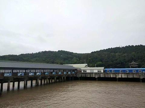 普陀山码头旅游景点攻略图