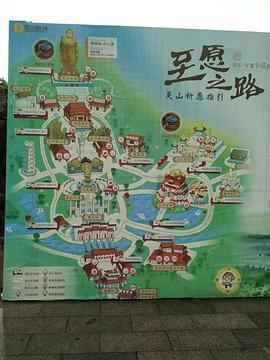 灵山大佛旅游景点攻略图