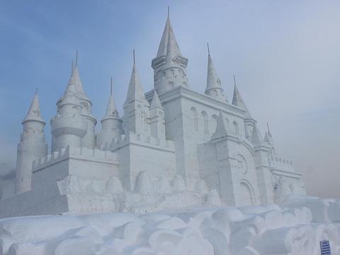 净月潭滑雪场旅游景点图片