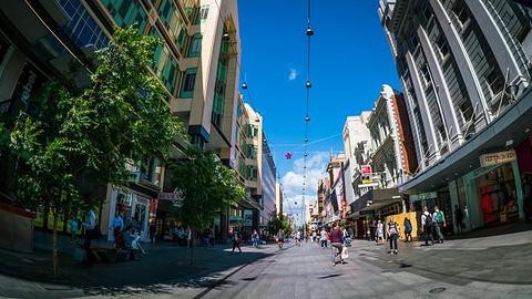 蓝道购物城旅游景点攻略图
