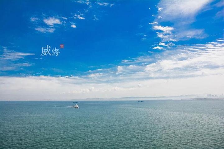 """""""最顶层是观景甲板,是海上全景式观光、摄影的最佳场所。我们的小俞上台互动,给点掌声,好不好_""""侨乡号""""游轮""""的评论图片"""